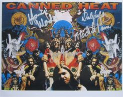 Canned Heat Signed Photo