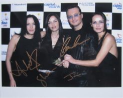 The Corrs Signed Photo