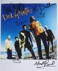 Del Amitri Signed Photo