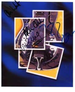 Dire Straits Signed Photo