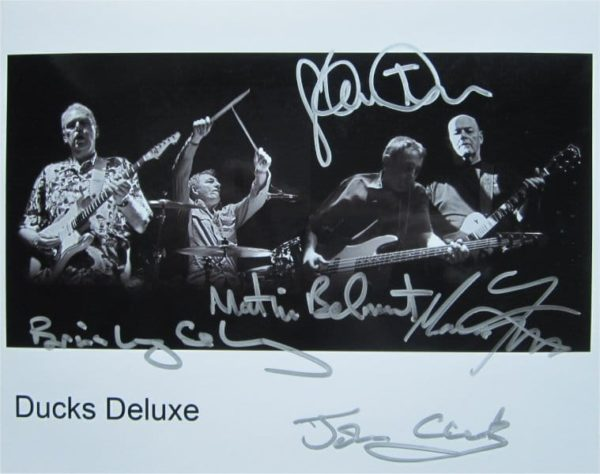 Ducks Deluxe Signed Photo