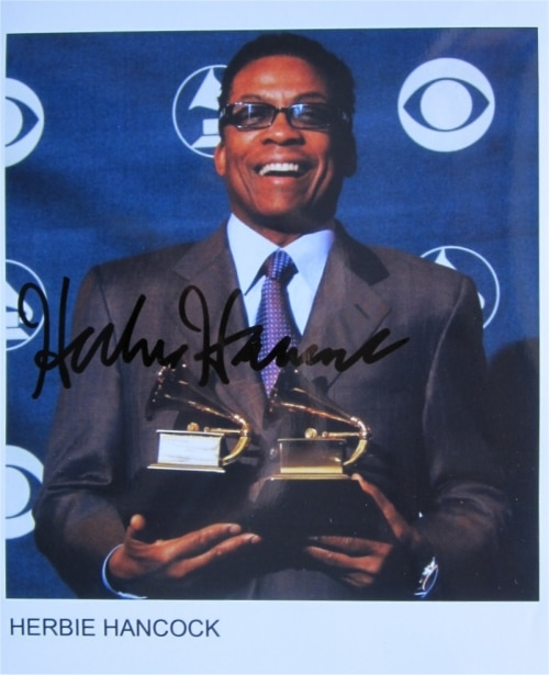 Herbie Hancock Signed Photo