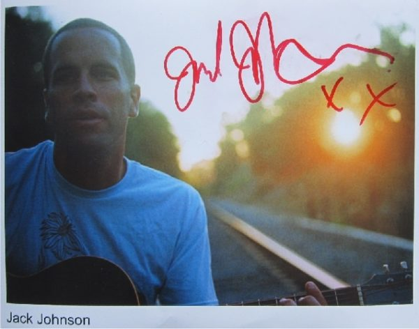 Jack Johnson Signed Photo