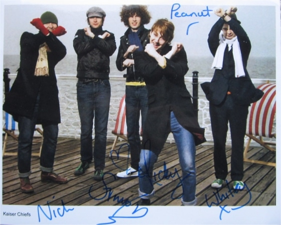 Kaiser Chiefs Signed Photo