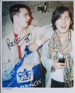 Libertines Signed photo