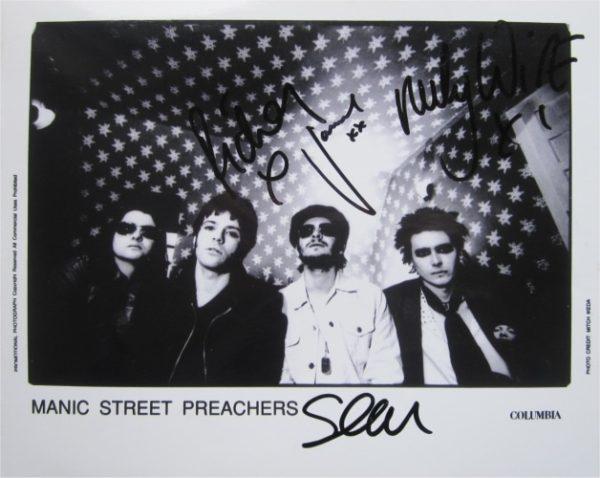 Manic Street Preachers Signed Photo