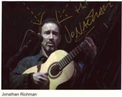 Jonathan Richman Signed Photo