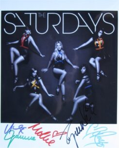 The Saturdays Signed Photos