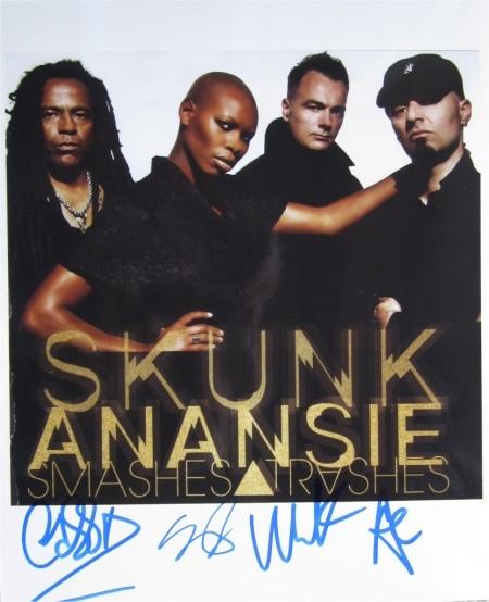 Skunk Anansie Signed Photo