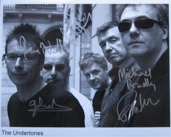 The Undertones Signed Photo