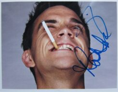 Robbie Williams Signed Photo