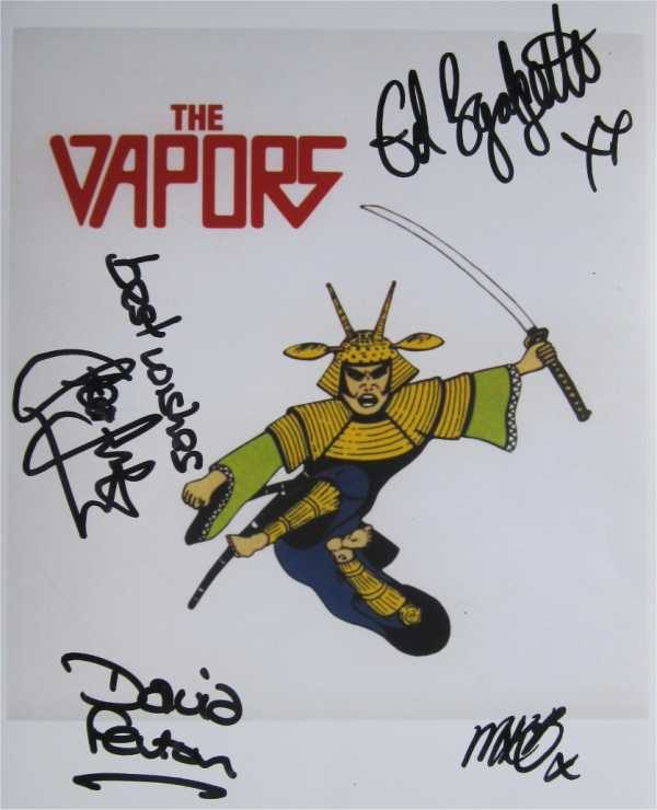The Vapors Signed Photo