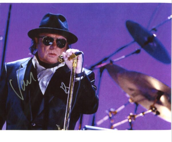 Van Morrison Signed Photo