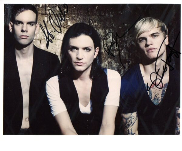 Placebo Signed Photo