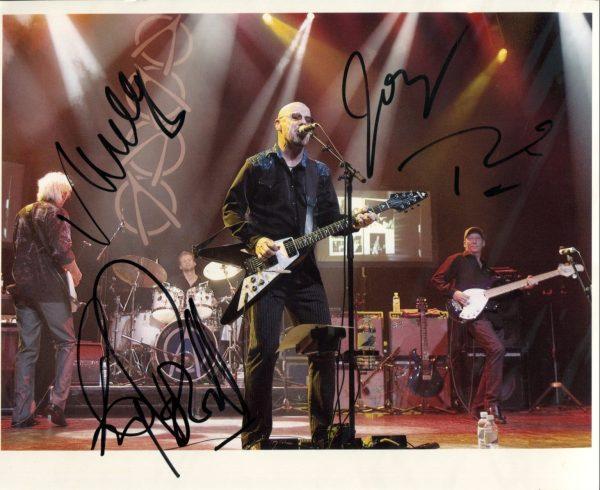 Wishbone Ash Signed Photo