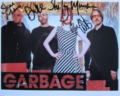 Garbage Signed Photo