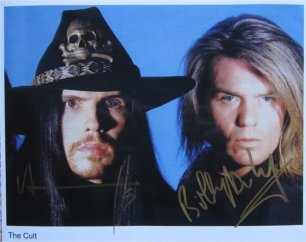 The Cult Signed Photo