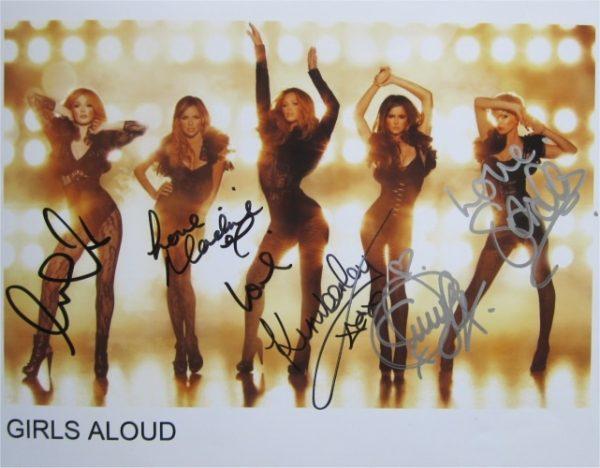 Girls Aloud Signed Photo