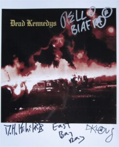 Dead Kennedys Signed Photo