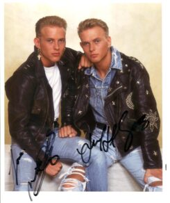 Bros Signed Photo